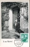 10622 AUSTRIA, Maximum  1957  Trachten,  70g.  Austrian  Costume, Niederosterreich Wachau - Maximumkarten (MC)