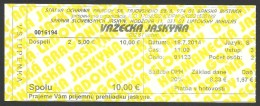 Slovakia, Vazecka Cave, Entry Ticket - Tickets - Vouchers