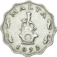 Monnaie, Malte, 5 Mils, 1972, British Royal Mint, TTB+, Aluminium, KM:7 - Malta