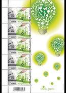 België / Belgium - Postfris / MNH - Sheet Europa, Think Green 2016 NEW!! - Belgium