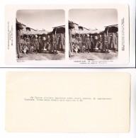 Middle Central Asia Russian Empire TASHKENT KYRGIZ TYPES Edition 1910 STEREOPHOTO - Uzbekistan