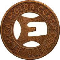 États-Unis, Elmira Motor Coach Corporated, Token - Professionnels/De Société