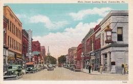 Main Street , East , GREENVILLE , Pennsylvania , 30-40s - United States