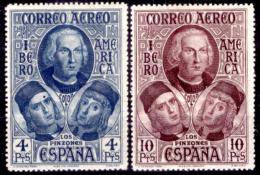 Spagna-101 - 1930 - P. A.- Y&T N. 73, 74 (+) LH - Privo Di Difetti Occulti - - Nuevos & Fijasellos
