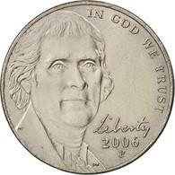 États-Unis, 5 Cents, 2006, Philadelphia, SUP, KM:381 - Emissioni Federali