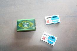 1 PAQUET DE SCAFERLATI DOUX ET DEUX PAQUETS DE PAPIER A CIGARETTES SUP AIR  MARQUE JOB - Cigarettes - Accessoires