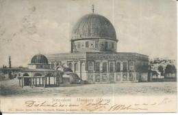 C84- GERUSALEMME - MOSCHEA D'OMAR - F.P. - VIAGGIATA - Palestina