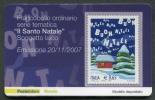 ITALIA TESSERA FILATELICA 2007 - NATALE RELIGIOSO LAICO - 257 - 6. 1946-.. Republik