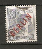 Berlin  1949 Mi 33 O  Roter Bdr.-Aufdruck  Geprüft Schlegel BPP - [5] Berlin