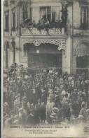 CHARENTE - 16 - COGNAC -  1914 - Départ De La Classe - Formation Du Cortège Devant Les Nouvelles Galeries -Top Animation - Cognac