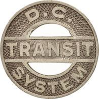 États-Unis, District Of Columbia Transit System, Token - Professionnels/De Société