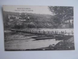 CPA 67 MARCKOLSHEIM Pont Sur Le Rhin Et Limbourg 1927 - France