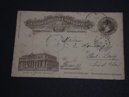 URUGUAY - Entier Postal Pour La France En 1893  - A Voir - L 477 - Uruguay