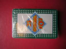 JEU / JEUX DE 54 CARTES SOUS BLISTER PUB LE 25 Eme ANNIVERSAIRE COCHONOU C'EST COMPLETEMENT FOU - 54 Cartes