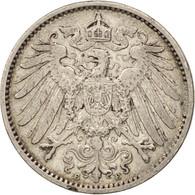 GERMANY - EMPIRE, Wilhelm II, Mark, 1906, Muldenhütten, TTB, Argent, KM:14 - [ 2] 1871-1918: Deutsches Kaiserreich