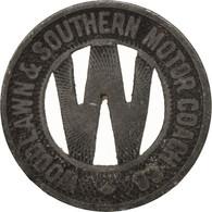 États-Unis, Woodland & Southern Motor Coach Company, Token - Professionnels/De Société