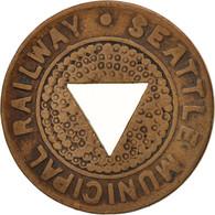États-Unis, Seattle Municipal Railway, Token - Professionnels/De Société