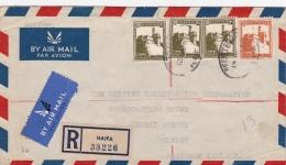 R-Brief 1940 Von Haifa Nach Belfast (l035) - Palestine
