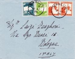 Ausschnitt 1936 Von Nablus Nach Bologna/Italien (l036) - Palestine