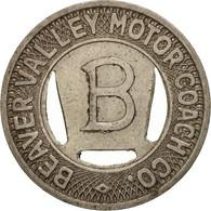 États-Unis, Beaver Valley Motor Coach Company, Token - Professionnels/De Société