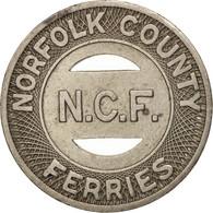 États-Unis, Norfolk County Ferries, Token - Professionnels/De Société