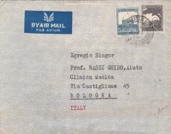 Brief 1948 Von Jerusalem Nach Bologna/Italien (l037) - Palestine
