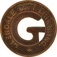 États-Unis, Glendale City Lines Incorporated, Token - Professionnels/De Société