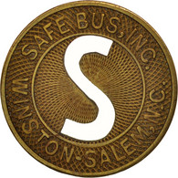 États-Unis, Winston-Salem Safe Bus Incorporated, Token - Professionnels/De Société