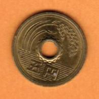 JAPAN   5 YEN 1998 (HEISEI 10) (Y # 96.2) - Japan