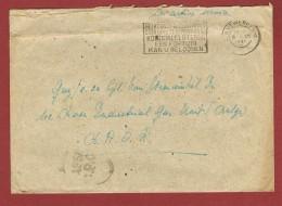 Brief Van Antwerpen 6/12/45 Naar BAOR   (British Army On The Rhine)met Engelse Censuur - WW I
