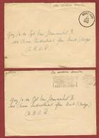 5 Brieven Naar BAOR   (British Army On The Rhine) - WW I