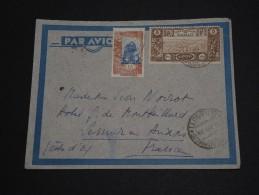 FRANCE / COTES DES SOMALIS - Enveloppe De Djibouti Pour La France En 1939 , Affranchissement Plaisant - A Voir - L 498 - Lettres & Documents