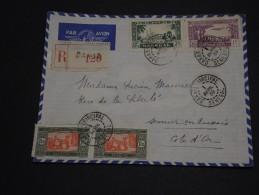 FRANCE / SÉNÉGAL - Enveloppe De Dakar Pour La France En 1939 , Affranchissement Plaisant - A Voir - L 501 - Sénégal (1887-1944)