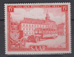 SARRE    1954      N° 329      COTE   6 € 00          ( E 18 ) - Neufs