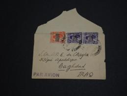 EGYPTE. - Enveloppe Pour Baghdad En 1954, Affranchissement Plaisant - A Voir - L 504 - Égypte