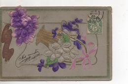 Bouquet De Violettes - Fleurs