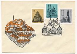 LITUANIE - 8 Enveloppes, Affranchissements Divers, Plupart FDC - Lithuania
