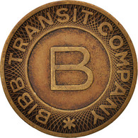 États-Unis, Bibb Transit Company, Token - Professionnels/De Société