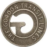 États-Unis, The Gordon Transit Lines, Token - Professionnels/De Société