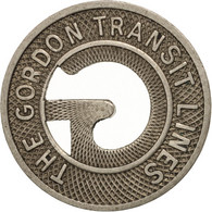 États-Unis, The Gordon Transit Lines, Token - Professionals/Firms