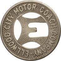 États-Unis, Ellwood City Motor Coach Company, Token - Professionnels/De Société