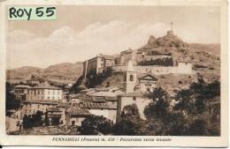 Marche-pesaro-pennabilli Veduta Panorama Verso Levante Citta'di Pennabilli - Italia