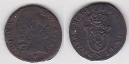 LOUIS XV 1 SOL EN BRONZE 1773 & AIX (voir Scan) - 1715-1774 Louis XV Le Bien-Aimé