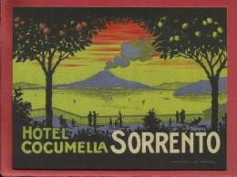 SORRENTO   HÔTEL COCUMELLA - Collection Gaston Louis Vuitton / DR - Italia