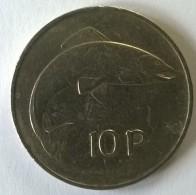 Monnaies - Irlande - 10 Pence 1969 - - Irlande