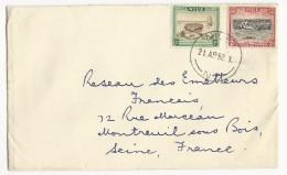 NIUE - 1952 - ENVELOPPE Pour MONTREUIL SOUS BOIS
