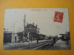 62 - CONCHIL LE TEMPLE - La Gare - France