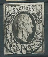 Saxe -  Yvert N°2 Oblitéré Ai21927