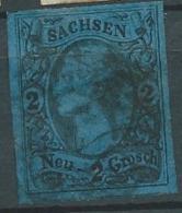 Saxe -  Yvert N°9 Oblitéré Ai21928