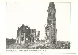 1944/1994 Libération Bocage Virois (14) AUNAY SUR ODON  Ville Martyre Détruite à 100%  (50è Anniversaire) - Guerra 1939-45